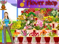لعبة ديكور محل الأزهار