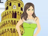 لعبة قص شعر البنت الايطالية