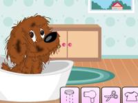 لعبة قص شعر الكلاب