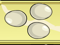 لعبة طبخ البيض