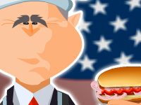 لعبة طبخ بوش
