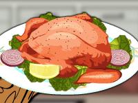 لعبة طبخ دجاج مشوي