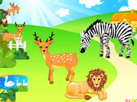 لعبة ديكور حديقة الحيوان