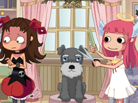 لعبة قص شعر الحيوانات الجديدة