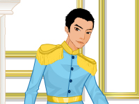لعبة تلبيس الأمير الوسيم