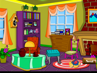 لعبة ديكور ترتيب غرفة لافندر الجميلة
