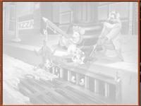 لعبة تلوين إنقاذ السناجب