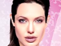 لعبة تلبيس المثيرة انجلينا جولي