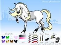لعبة تلوين الحصان الاسطوري