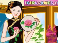 لعبة باربي تلبيس باربي الصينية