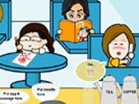 لعبة طبخ المكتب وطلبات الموظفين الجديدة