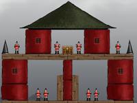 لعبة اكشن تدمير القلعة الخطيرة