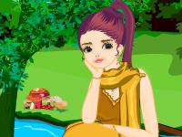 لعبة تلبيس البنت ميلكي الرائعة