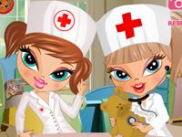 لعبة تلبيس الممرضة دولز