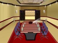 لعبة ديكور غرفة المؤتمرات