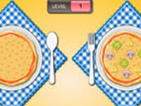 لعبة طبخ وتطابق اطباق البيتزا