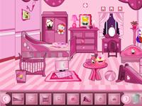 لعبة ديكور غرفة بنات جديدة