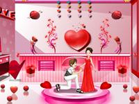 لعبة ديكور الغرفة الرومانسية الجميلة