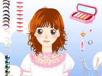 العاب مكياج لعبة مكياج فتاة الاحلام الجميلة