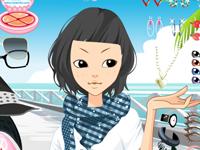 العاب تلبيس لعبة تلبيس الفتاة الانيقة الجميلة