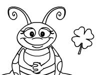 العاب تلوين لعبة تلوين النمل الخطير