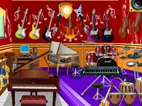 العاب لعبة ديكور وترتيب غرفة الموسيقي الرائعة