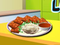 لعبة العاب طبخ رغيف اللحم الطازج