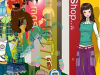 لعبة تسوق وشراء الملابس الرائعة