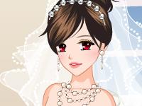 لعبة تلبيس الشابة الرائعة الجميلة