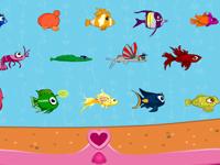 لعبة براتز الصغيرة واختيار الأسماك