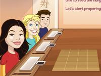 لعبة طبخ السوشي الشهي