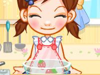 لعبة الطباخة الامورة والاكل اللذيذ