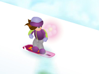 لعبة باربي والتزلج على الجليد