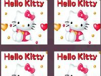 لعبة هيلو كاتي وايجاد الصور المتطابقة