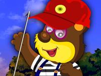 لعبة تلبيس الدب الصغير