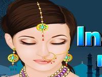 لعبة ميك أب الفتاة الهندية