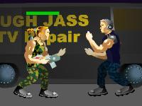 لعبة اكشن هجوم جندي المارينز القوي