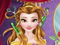 لعبة قص شعر بيلا الجميلة