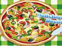 لعبة ديكورات البيتزا الساخنة