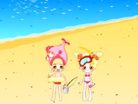لعبة ديكور شاطئ البحر