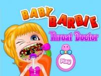 لعبة باربي الصغيرة وطبيب الاسنان