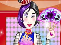 لعبة تلبيس فتاة صينية