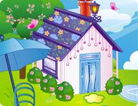 لعبة ديكورات المنزل الريفي