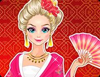 لعبة ايلسا وملابس صينية