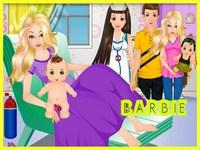 لعبة باربي والمولود الجديد