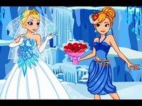 لعبة زفاف جميلات ديزني