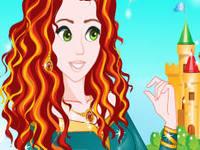 لعبة قصة شعر الاميرة بيلي