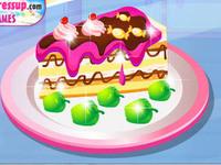 لعبة تصنيع قطعة الحلوى