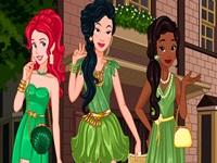 لعبة ملكات اللون الاخضر