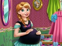 لعبة ديكورات المرأة الحامل